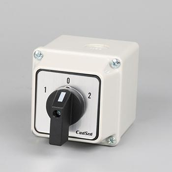 Waterproof Changeover Cam Switch 3 Pole