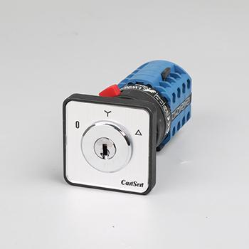 4 Pole 3 Position Motor Control Switch (with keylock)